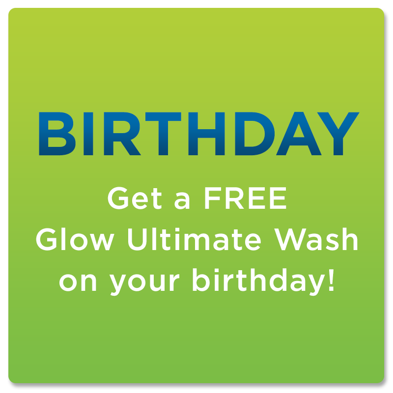 Birthday - Free Glow Ultimate Wash