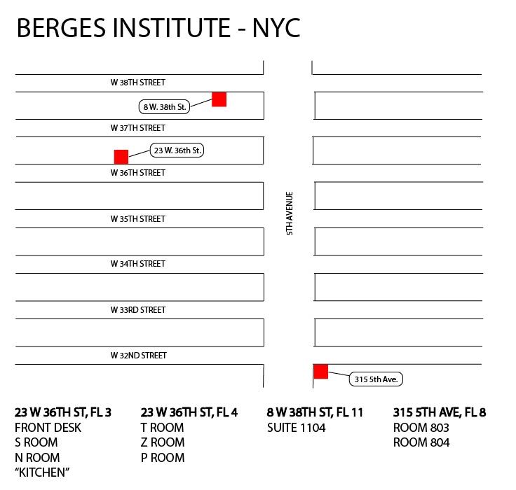 Berges_Institute_NYC_Campus_Map