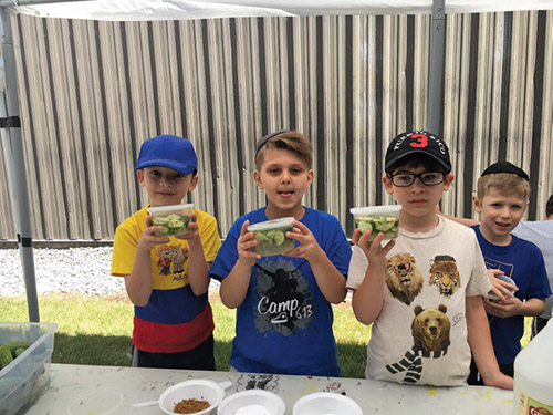 Camp 613 Campers Can't Get Enough of Culinary Arts - Jewish Link July 6, 2017