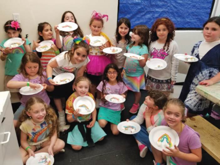 Camp 613 Has Rainbow Day - Jewish Link, July 4th, 2018