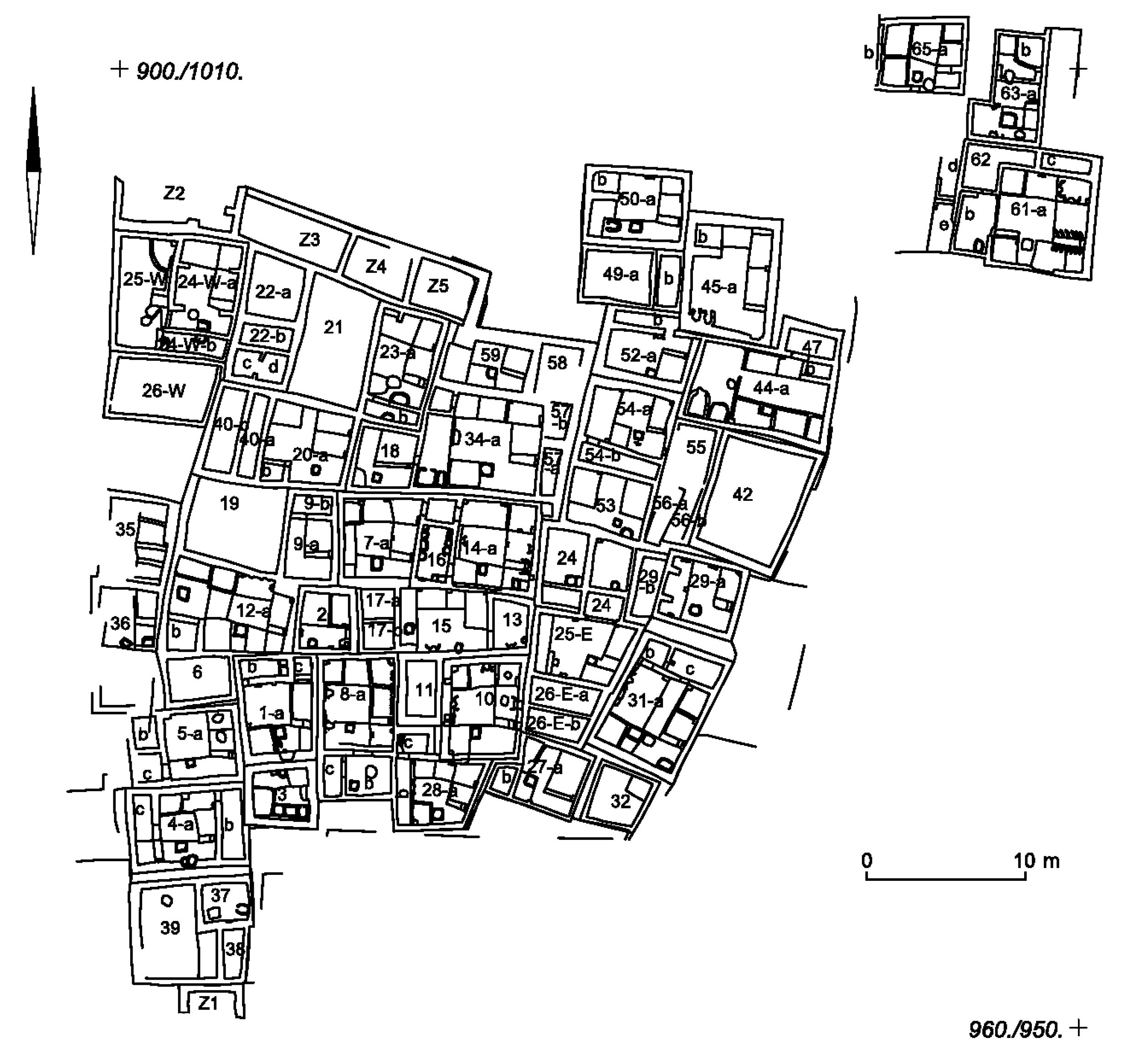 Perhaps the earliest city, Catal Hoyuk (During & Marciniak 2006:177)