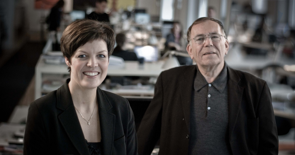 Helle Søholt and Jan Gehl, founders of Gehl Architects (Image source here)