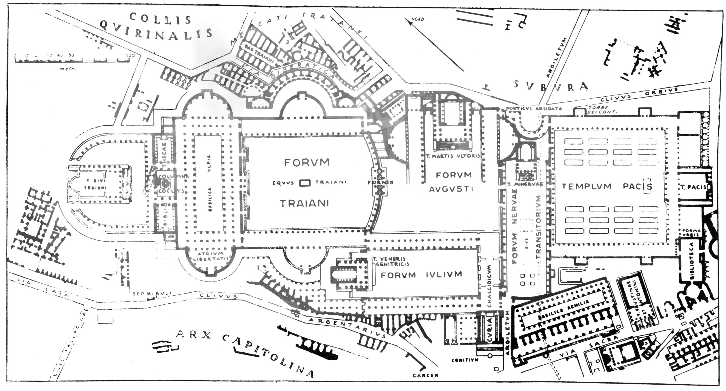The Roman Forum - Not so unique afterall?  (Ward-Perkins 1974: 108)