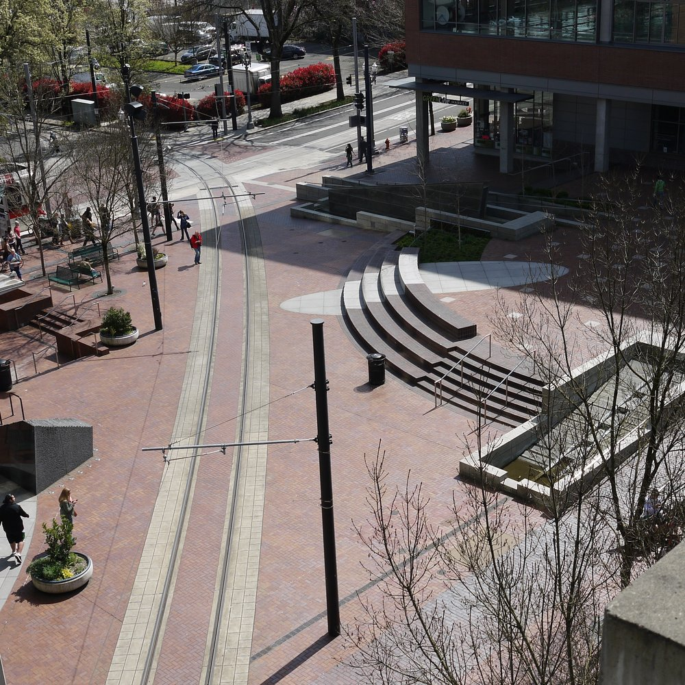 The Urban Center Plaza, Portland, Oregon