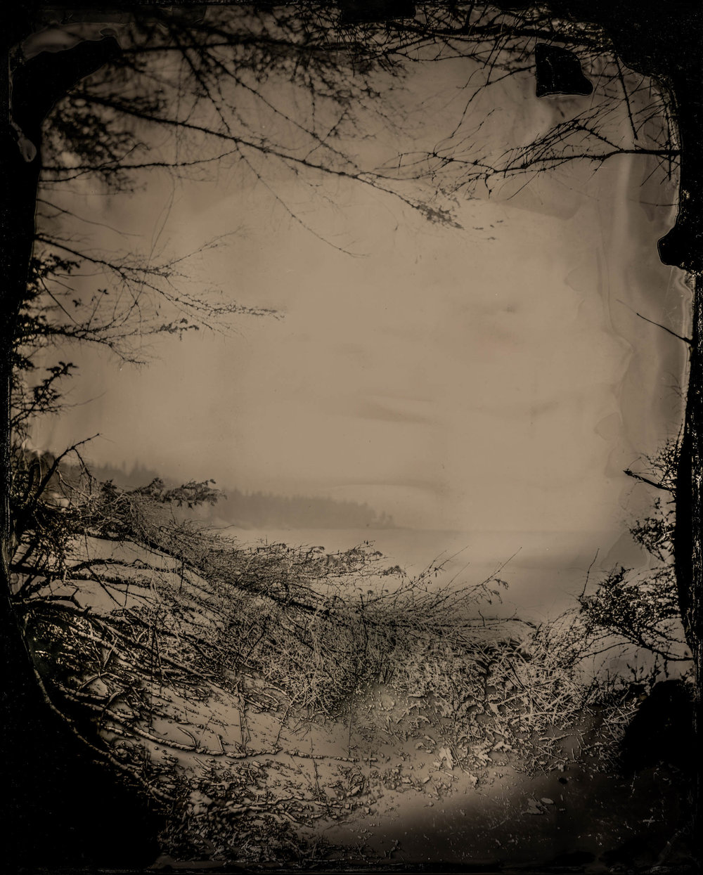 A Photograph of Everything and Nothing, ambrotype original, archival pigment print, 40 in. x 50 in., 2018