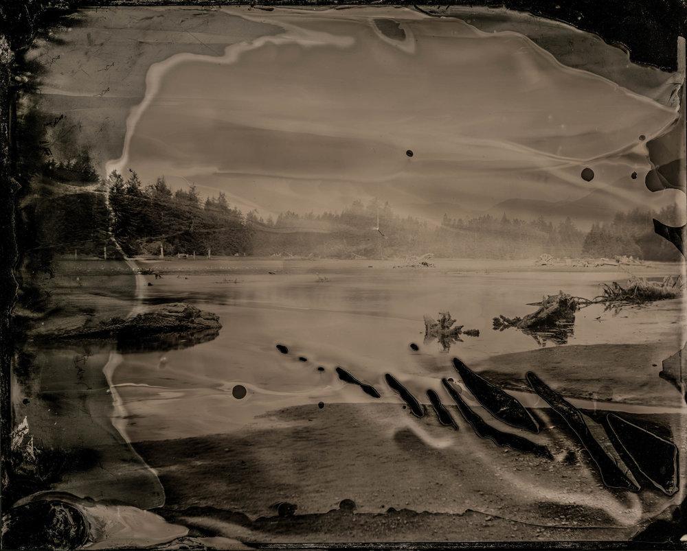 Alternate Vision, ambrotype original, archival pigment print, 50 in. x 40 in., 2018