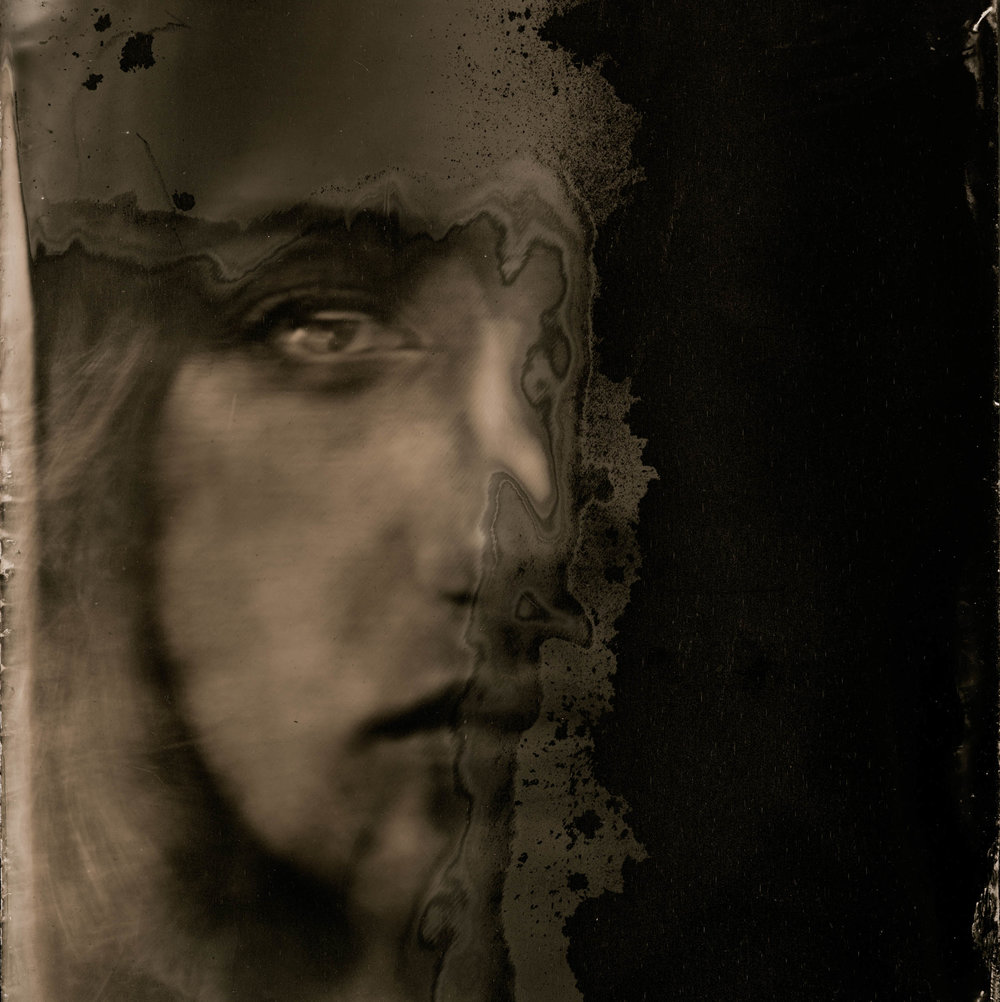 Ishtar, ambrotype original, archival pigment print, 40 in. x 50 in., 2018