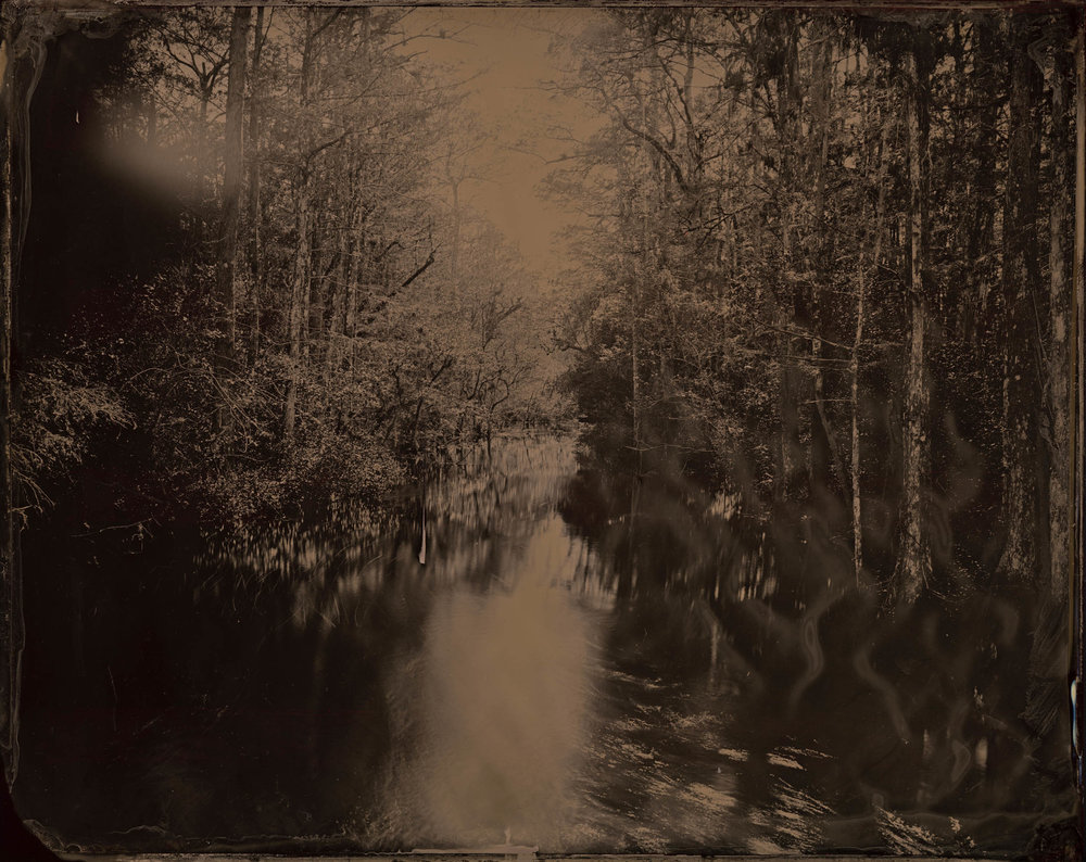 The Secrets of Water, ambrotype original, archival pigment print, 50 in. x 40 in., 2018