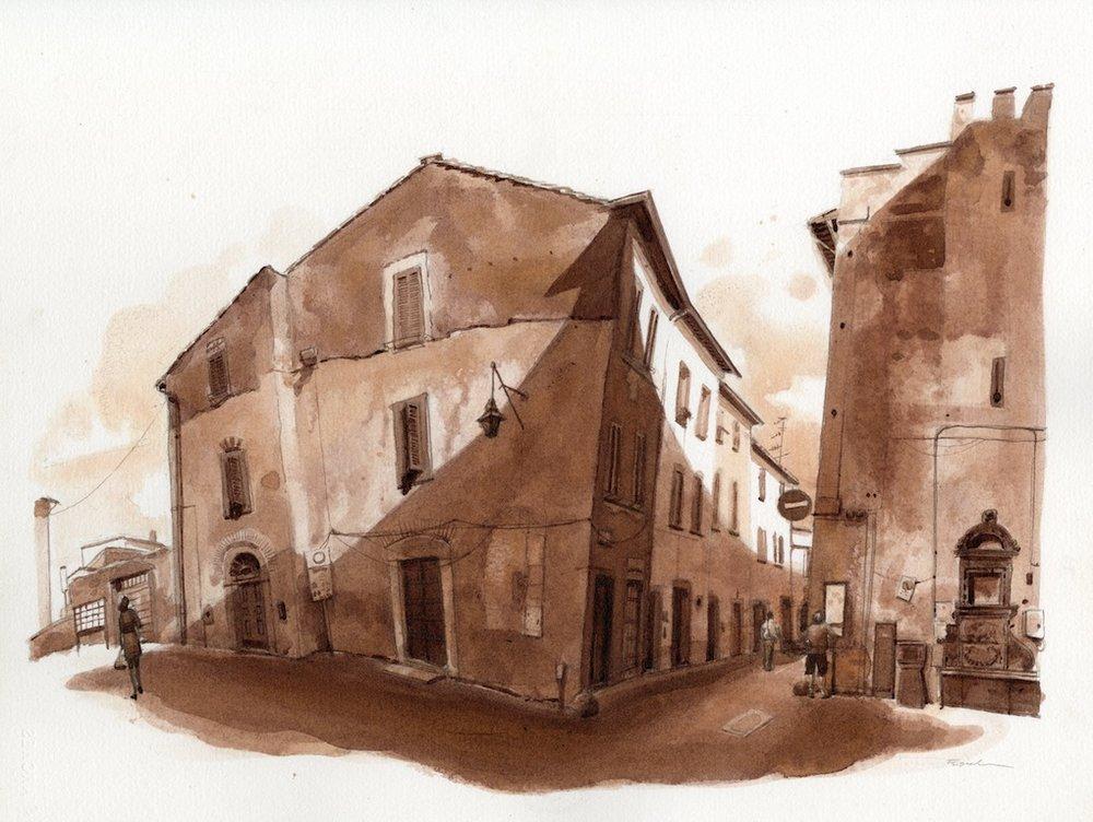 Morning at Porta San Piatro