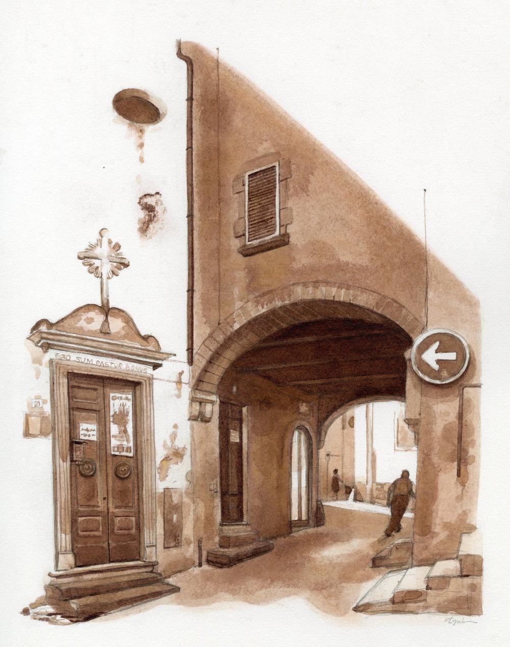 """Palestra Fanum"" Via Santa Maria Egiziaca, Viterbo, Italy"