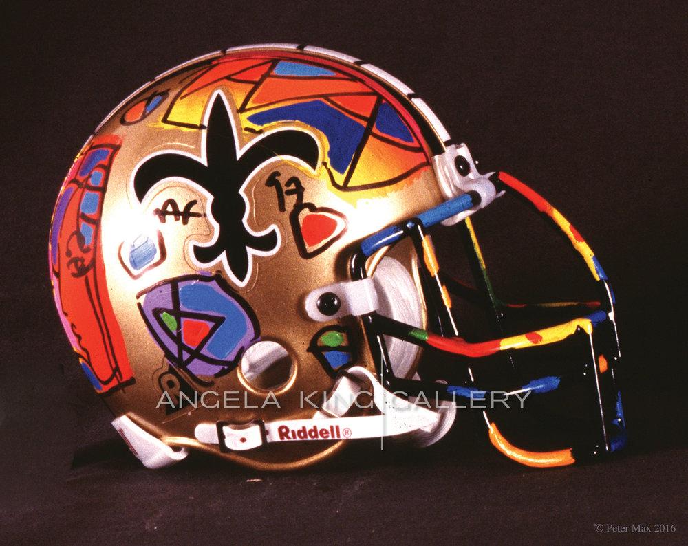Helmet - Ver.II #295 (N.O. Saints)
