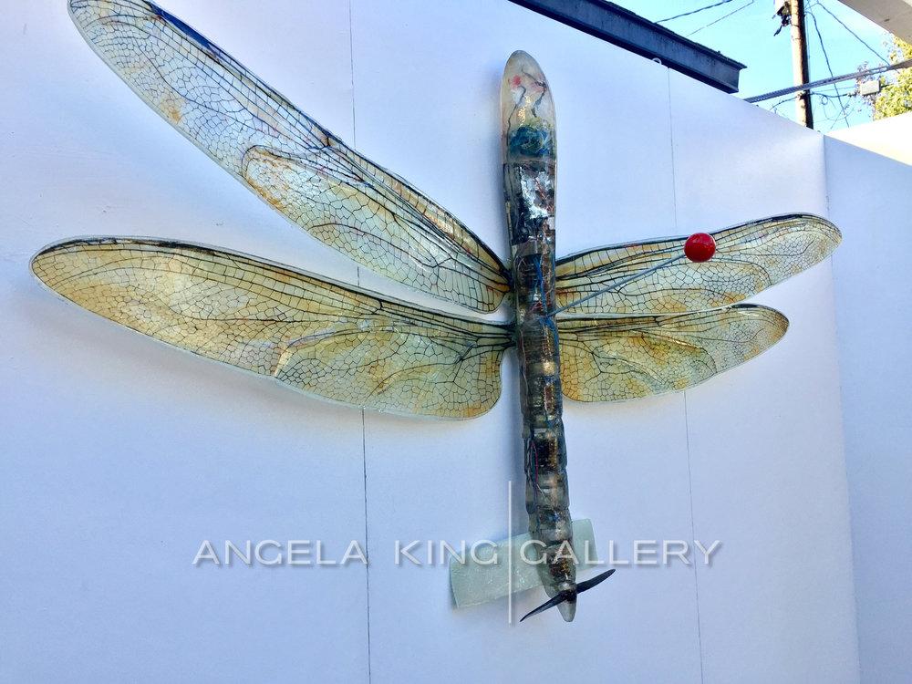"Predator Drone Dragon Fly Specimen 50""x74"""