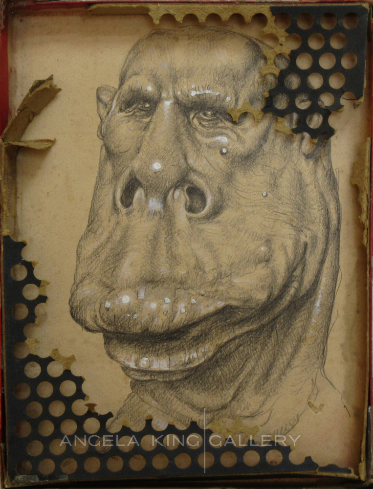Big Man Lip Collage