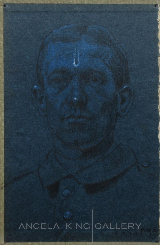 Indigo Man Portrait