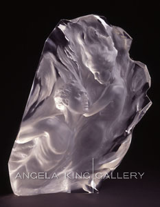 Ex Nihilo, Working Model Fragment(Lucite)