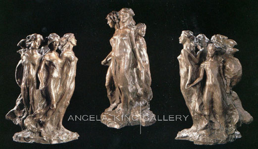 Daughters of Odessa Maquette Bronze