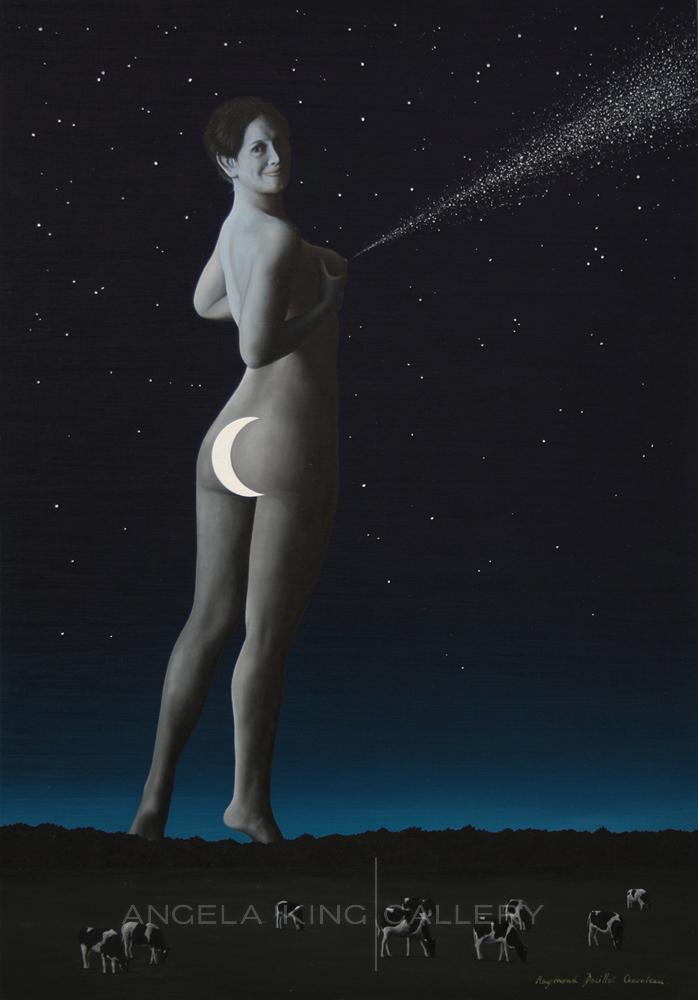 Hera et la Voie Lactée - Hera and the Milky Way