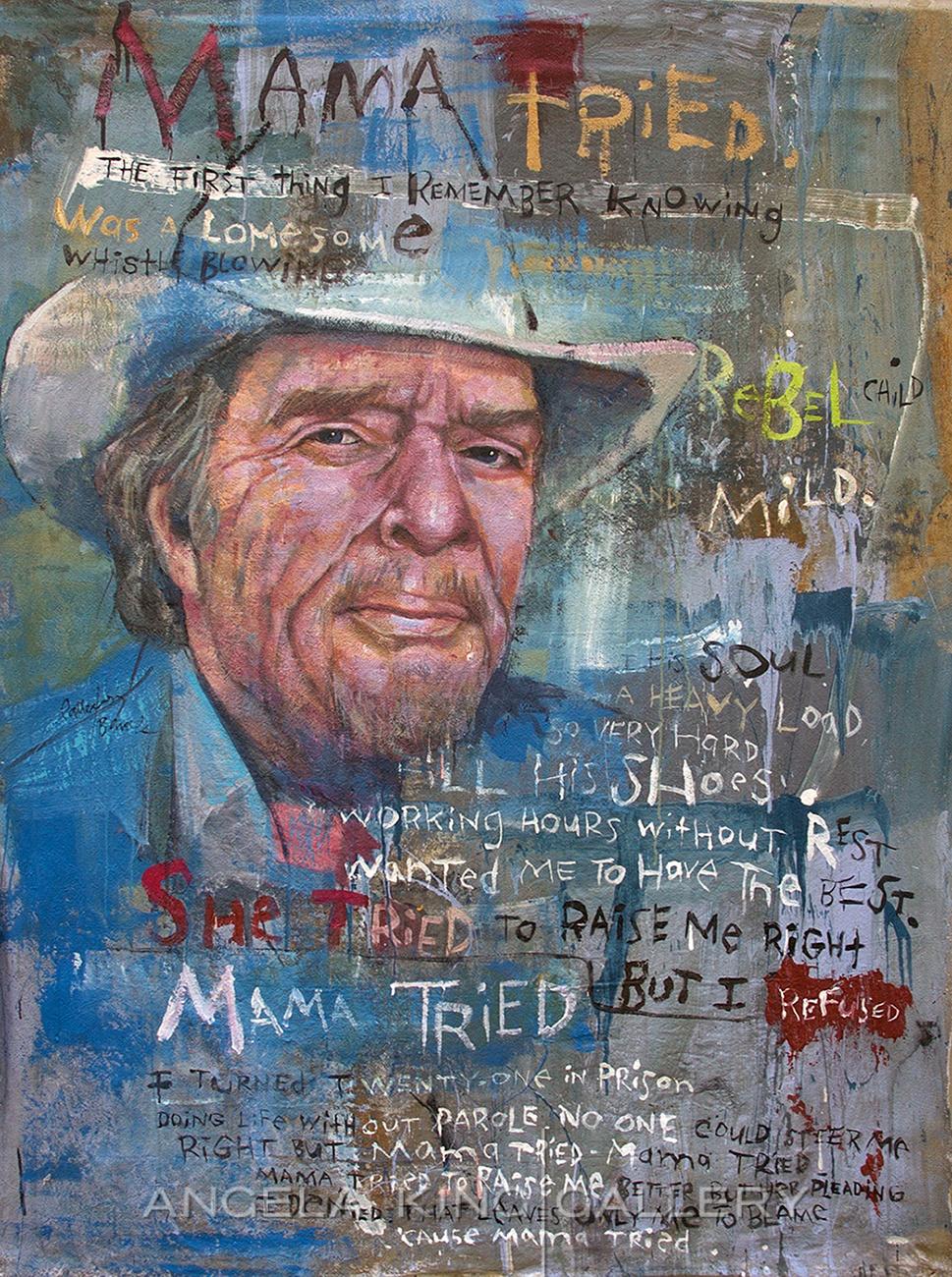 "Merle Haggard ""Mama Tried"""