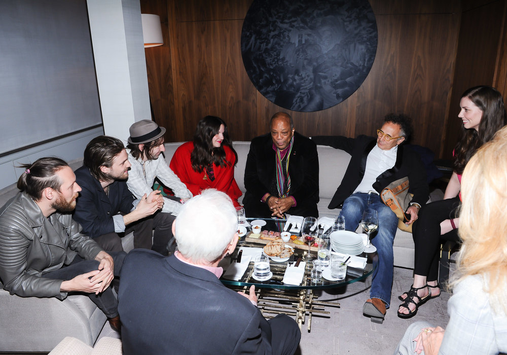 Slaight Residents meet Quincy Jones, Norman Jewison