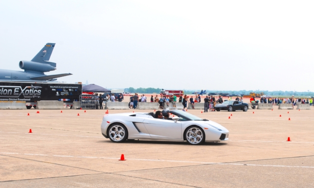 Precision Autocross: 3 laps on a closed course at the airport!