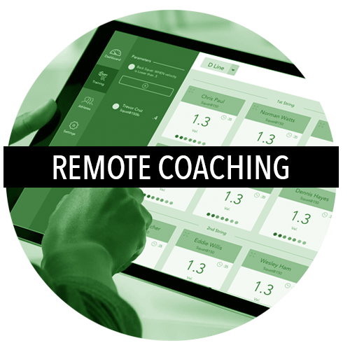 Stay better connected to your athletes, from anywhere at anytime and get unbiased, unfiltered feedback on each of their training sessions to maximize your coaching effectiveness. Perfect practice creates perfect lifts.