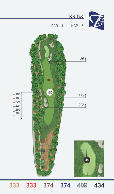 Hole 2 - Bent Hollow
