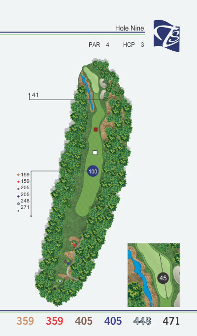 Hole 9 - Black Diamond