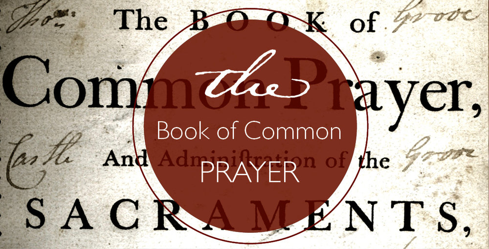 Click for the Online Book of Common Prayer