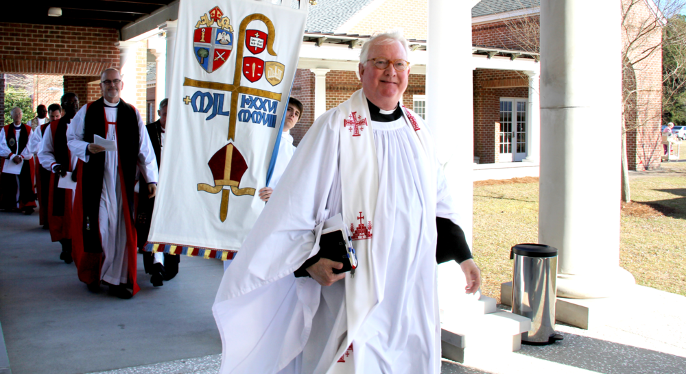 John Barr in procession.png