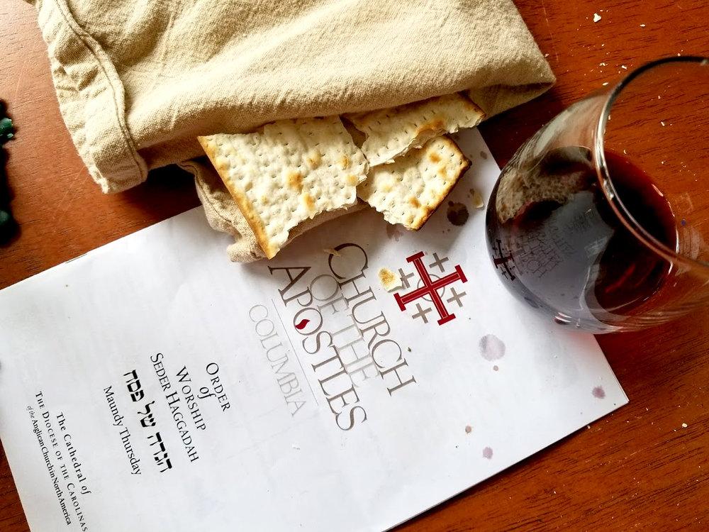 Maundy Thursday   April 18, 2019   Seder Haggadah