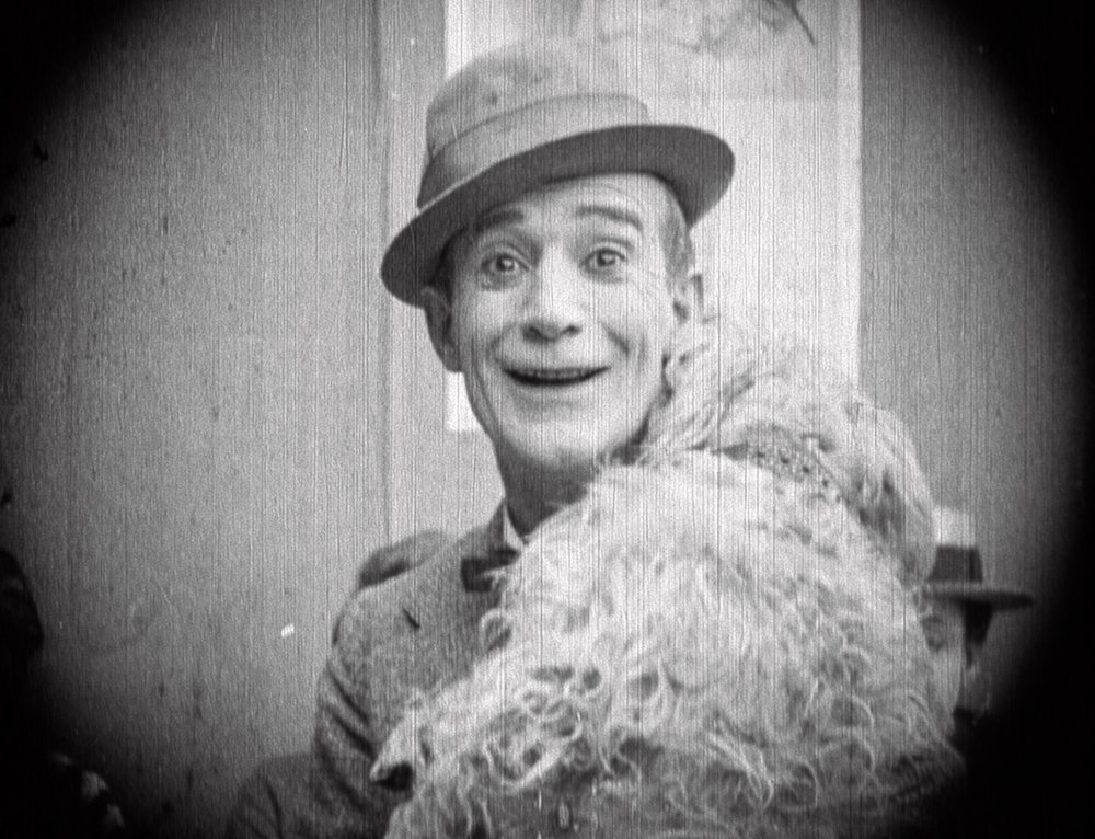 "Billy B. Van in the recently re-discovered Reelcraft silent comedy ""Where Are Your Husbands?"" 1920"
