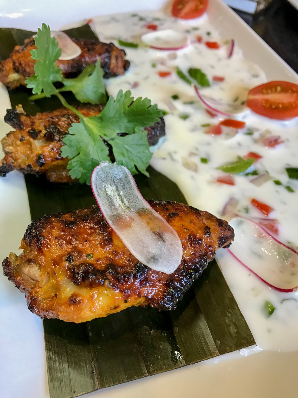 Masala Chicken Winglets