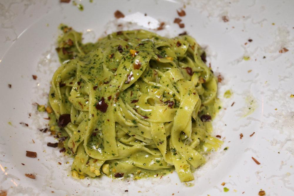 Pesto pasta