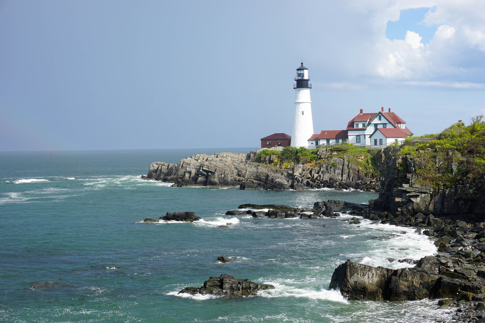Lighthouses are SO Maine