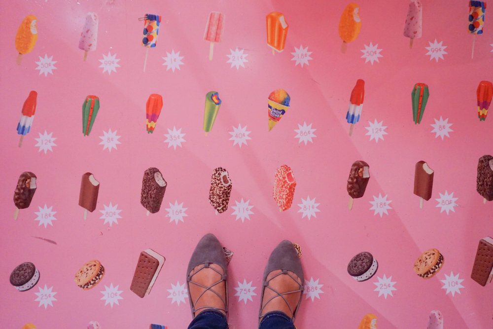 Loving this popsicle floor