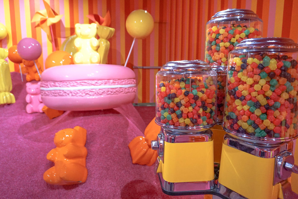 Welcome to gummy bear land!