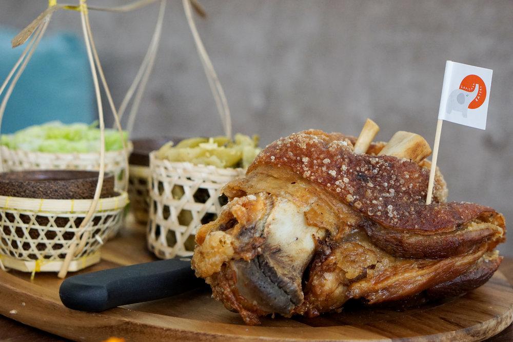 Fried Pork Knuckle