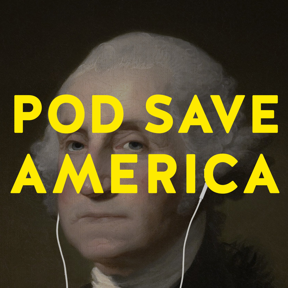 Pod Save America podcast logo
