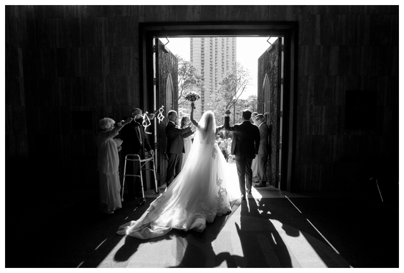 holy-name-chicago-wedding-exit