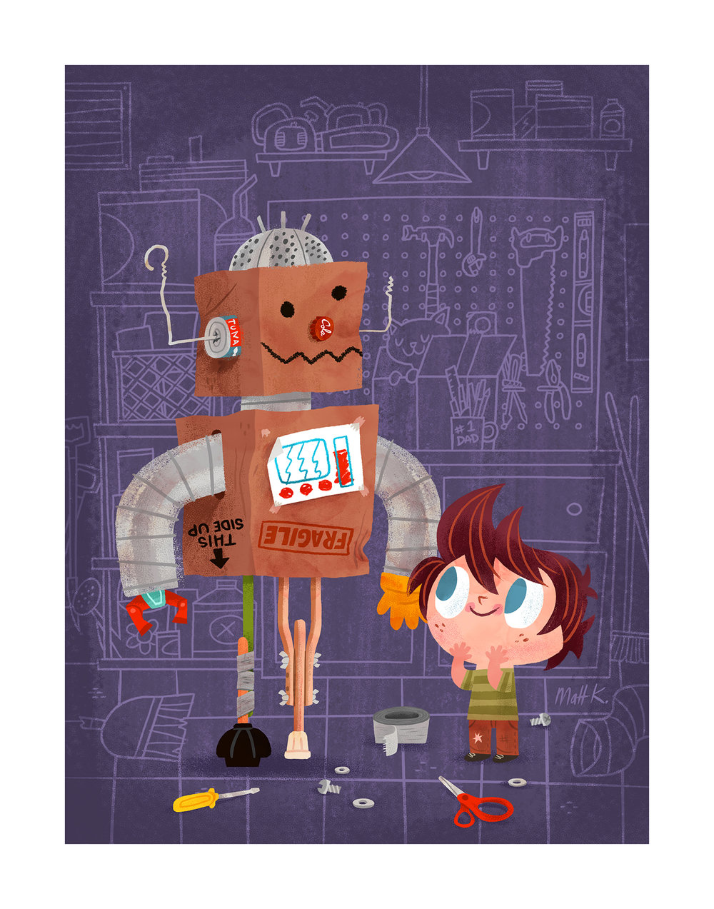 'Building Friendship' by Matt Kaufenberg