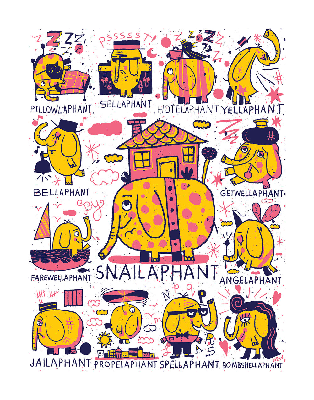 'Snailaphant' by Nate Williams