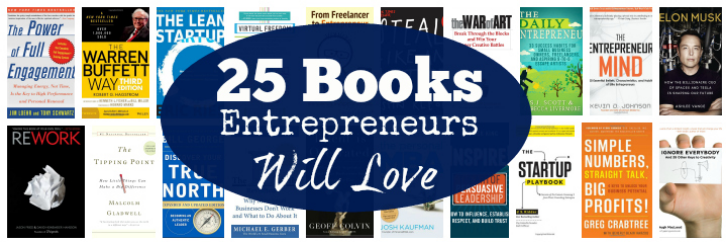 25 Books Entrepreneurs will love - By: Inc. Magazine
