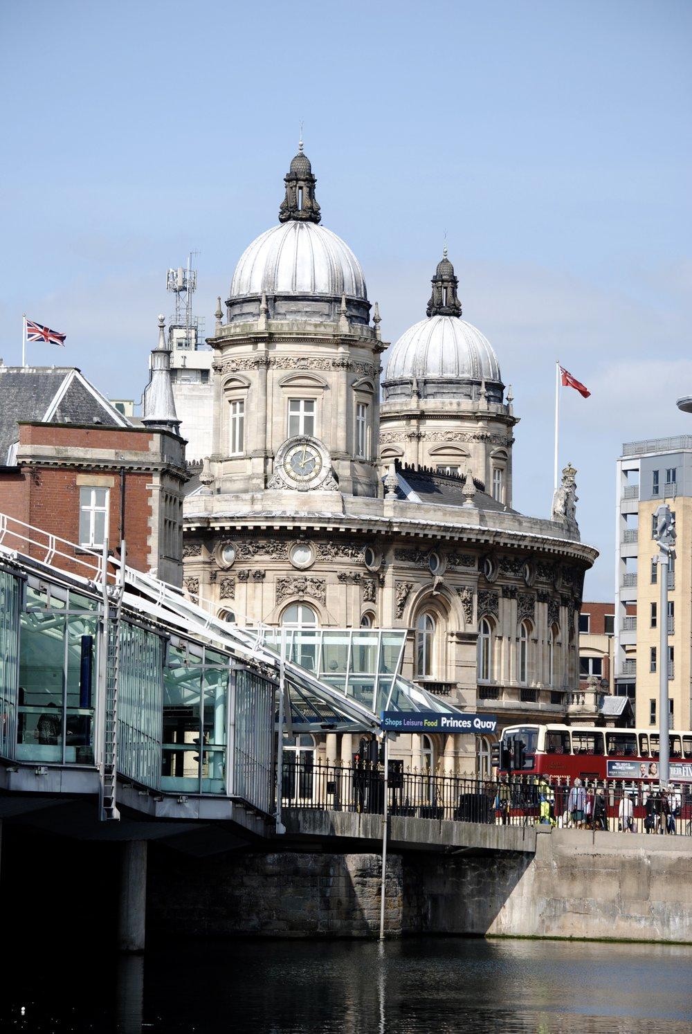 Princes Quay shopping centre.