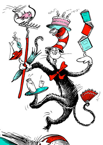 The Cat in the Hat is our latest favourite.