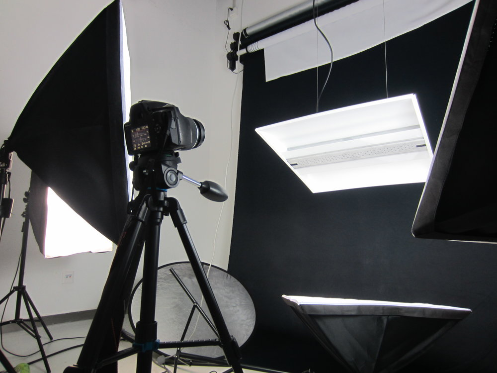 Studio Photography Setup #1