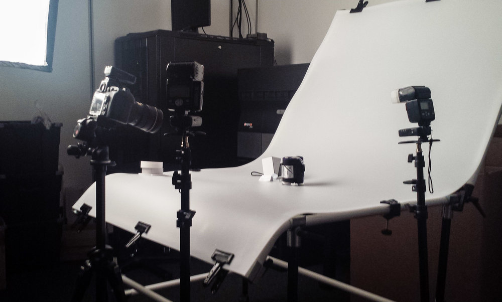 Studio Photography Setup #3