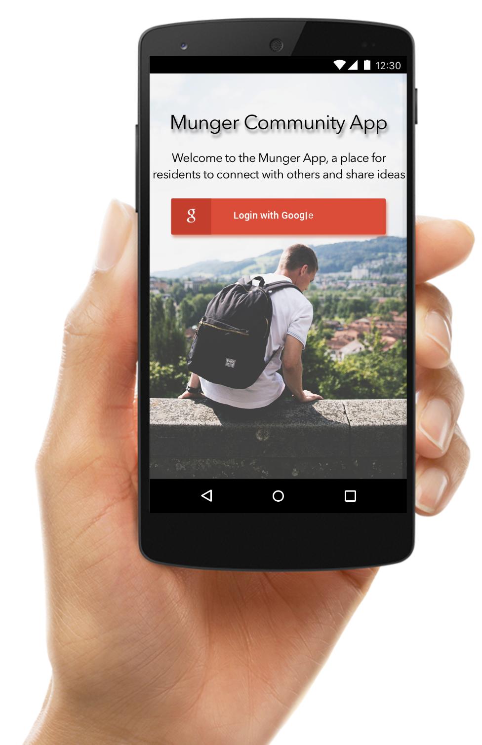 Munger Community App (UX Design)