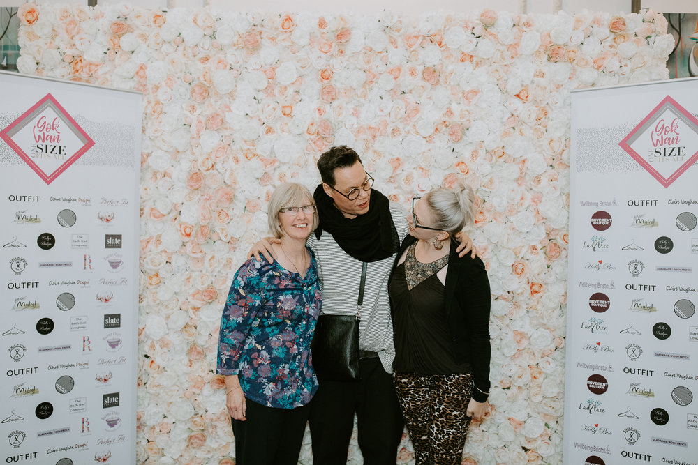 Gok Wan - I was lucky enough to be invited to join Gok Wan at his One Size Fits All tour in Bristol on Saturday 20th October!This was a fabulous day, where Gok supported the High Street and independent businesses.