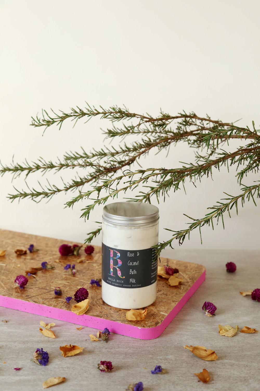 Rose & Coconut Bath Milk