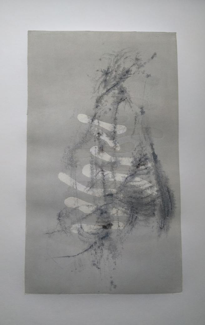 """smereka-22 x 15"""" - skeleton sticks"""